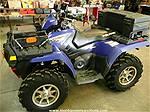 Picture: 2007 Polaris Sportsman 800 4x4 ATV w/ Winch Racks, Boxes, Hand & Thumb Warmers, Rear Bumper  264Hrs