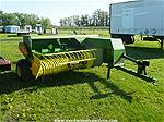 Picture: JD 346 Small Square Baler W/  Turn Chute