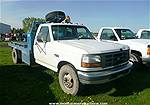 Picture: 1997 Ford F350 Dually 2x4 Diesel Truck w/Steel Deck