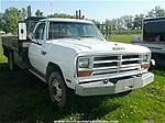 Picture: 1990 Dodge D-50 Truck w/ 11 Steel Deck