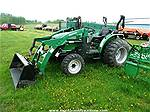 Picture: 2007 Montana R4944HST 4WD Compact Diesel Tractor w/3PT, ROPS & Montana FEL  56Hrs Showing S/n R45RFAG8166