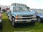 Picture: 1998 Chev Silverado 3500 4x4 Diesel Truck , LB, Crew Cab
