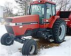 Picture: CASE IHC 7110 AGRICULTURAL TRACTOR - 132 Hp S/n 9949253 w/CAH, 540/1000 PTO, 3 Hyd., 18F/4R P/S Trans, 20.8x42R Rubber (Note:  600 Hrs on R/Bilt Engine, Trans., Injectors & Pump)