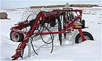 Picture: Case IHC WRX201 - 10 Wheel V-Rake  S/n DFC001235 w/Hyd., & Transport