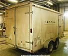 Picture: 2003 Hallmark T/A Enclosed 7000 Lb Trailer S/n 16HPB142295037120