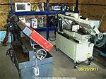 Picture: 2008 Hydraulic UE-916A 9 X 16 Vertical / Horizontal Band Saw - 220v, Auto ShutOff