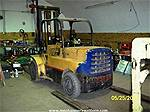 Picture: Hyster 6000 LB Dual Wheeled Lift TruckW/6-Cyl. Gas Engine