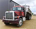 Picture: 1987 Peterbilt Convention T/A Truck w/14x12yd Southland Gravel Box, Hoist, Tarp, 425 Cat Eng, 15 Spd RR, Locking Diff