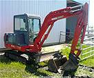 Picture: 1999 Thomas T35S Mini-Hoe 2700 Hrs  S/n NS3520138 w/Rubber Tracks, Dozer, Kwik-Attach 18Tooth & 30 Smooth Buckets