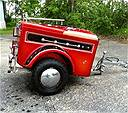 Picture: Tiny Mite Motorcycle Cargo Trailer