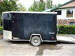 Picture: 2005 Haulmark V-Nose S/A Enclosed Trailer w/ Rear Ramp Door & Man Door