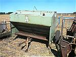 Picture: 50 Bu Steel Creep Feeder on Wheels & Cage