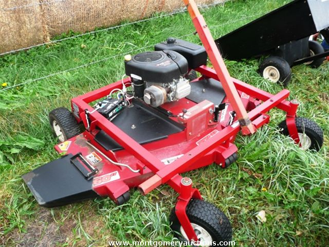 Offset Finish Mower : Listing pictures montgomery auction services ltd