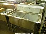 Picture: (New)2 Comp SS Pots & Pans Sink