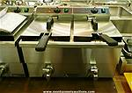 Picture: (New) Adcraft Double Deep Fryer