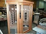 Picture: 4 Person Infrared Cedar Wood Sauna