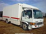 Picture: 1998 Hino FD2220 S/A Diesel Cab Over  6 Spd. w/20 Insulated Van Body