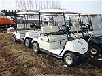 Picture: 2002 & 1996 Yamaha Gas Golf Cart