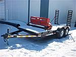 Picture: 2009 Trail Tech 16 T/A Flatdeck Equipment Trailer