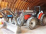 Picture: MF 5435 MFWD Ag Tractor  75 HP  2000 Hrs w/Quicke Q45SE FEL & Grapple, ROPS, 3Pt