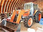 Picture: Kubota M9580 MFWD Diesel Tractor  95 HP- 5000 Hrs w/CAH, FEL, 3 PT