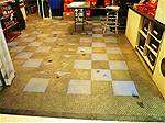 Picture: Approx. 800 Sq of Poly Snap Together Flooring