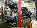 Picture: Wheeltronics 629 12000 Lb -1 Ph 4 Post wheel Alignment Automotive Hoist  20 Ft w/2-Jacking Beams