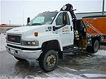 Picture: 2005 GMC C5500 S/A Dually 4x4 Duramax Diesel Truckw/General PM 6522 Series 6 Knuckle Boom Picker
