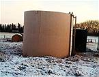 Picture: 200 bbl skidded tank