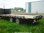 2008 TRAILTECH 24' FLATDECK EQUIPMENT TRAILER, Image 2