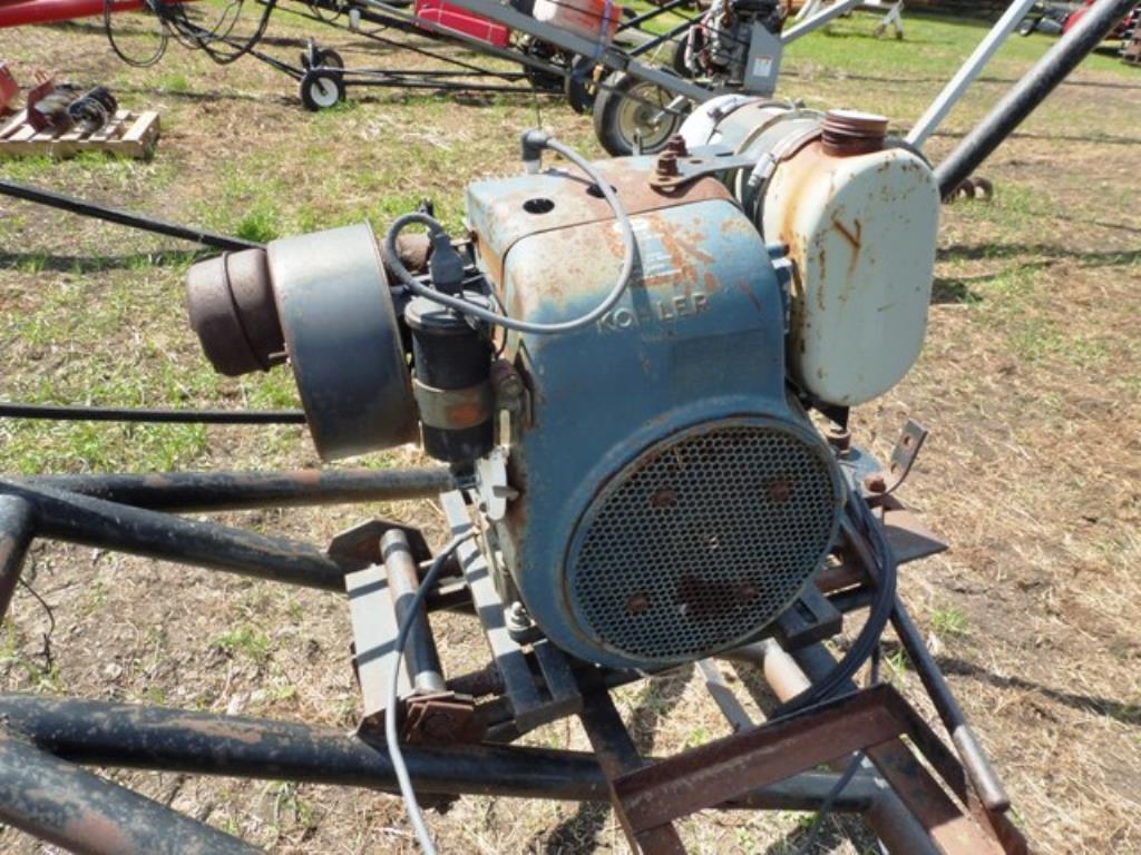 Large Modern Farm Equipment Dispersal Montgomery Auction