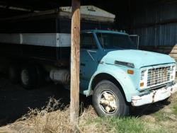 Picture: 1977 Ford LN 600 S/A Grain Truck w/ Grain Master 14 Ft Steel Box & Hoist V8 Gas