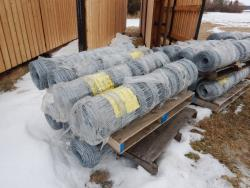 Item: ROLL OF PAGE WIRE FARM FENCE, HOT DIPPED GALVANIZED 330FT X 50